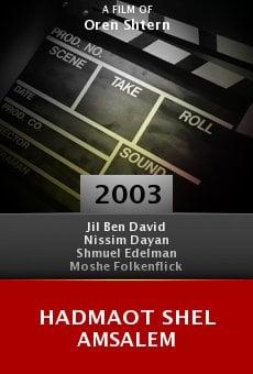 Hadmaot Shel Amsalem online free
