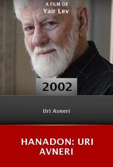Hanadon: Uri Avneri online free