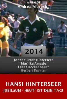Watch Hansi Hinterseer Jubiläum - Heut' ist Dein Tag! online stream