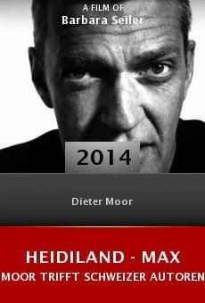 Heidiland - Max Moor trifft Schweizer Autoren online