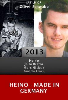 Watch Heino - Made in Germany online stream