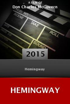Ver película Hemingway