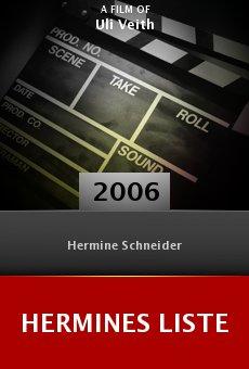 Hermines Liste online free