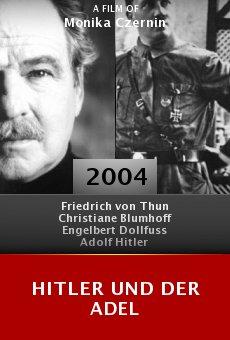 Hitler und der Adel online free
