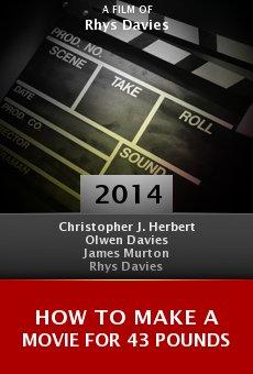 Ver película How to Make a Movie for 43 Pounds