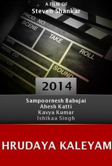Ver película Hrudaya Kaleyam
