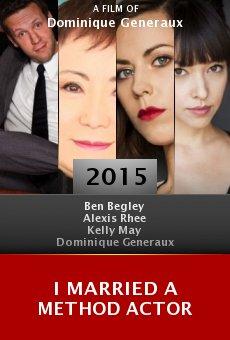 Ver película I Married a Method Actor