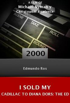 I Sold My Cadillac to Diana Dors: The Edmundo Ros Story online free