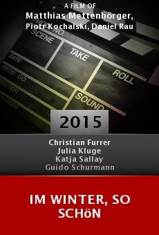 Ver película Im Winter, so schön