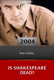 Is Shakespeare Dead? online free