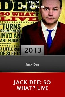 Ver película Jack Dee: So What? Live