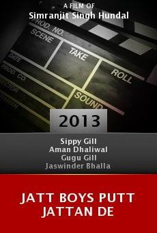 Watch Jatt Boys Putt Jattan De online stream