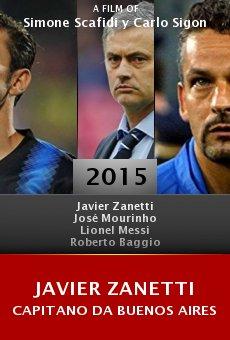Ver película Javier Zanetti capitano da Buenos Aires
