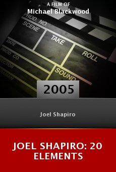 Joel Shapiro: 20 Elements online free