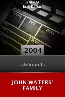 John Waters' Family online free