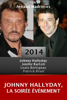 Ver película Johnny Hallyday, la soirée événement