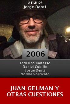 Juan Gelman y otras cuestiones online free