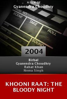Khooni Raat: The Bloody Night online free