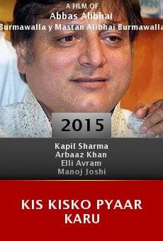 Ver película Kis Kisko Pyaar Karu