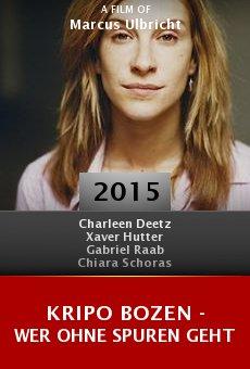 Ver película Kripo Bozen - Wer ohne Spuren geht
