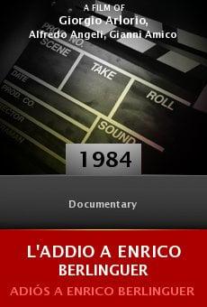 Ver película L'addio a Enrico Berlinguer