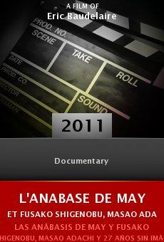 Ver película L'Anabase de May et Fusako Shigenobu, Masao Adachi et 27 années sans images