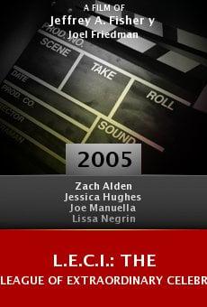 L.E.C.I.: The League of Extraordinary Celebrity Impersonators online free