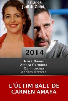 L'últim ball de Carmen Amaya Online Free
