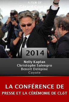La conférence de presse et la cérémonie de clôture du Fifigrot 2014 online free