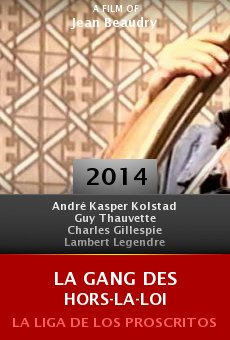 Watch La gang des hors-la-loi online stream
