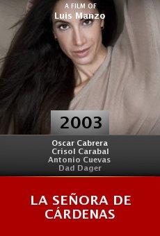 La señora de Cárdenas online free