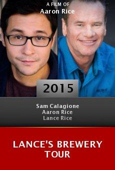 Ver película Lance's Brewery Tour