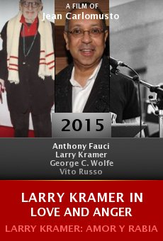 Larry Kramer In Love and Anger online