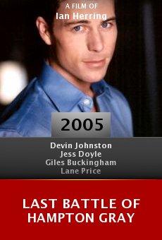 Last Battle of Hampton Gray online free