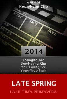 Ver película Late Spring