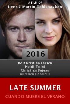 Ver película Late Summer