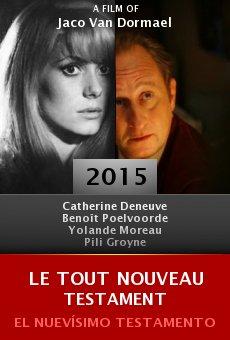 Ver película Le tout nouveau testament