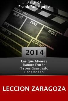 Leccion Zaragoza online