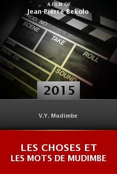 Ver película Les Choses et les Mots de Mudimbe