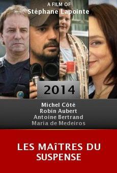 Ver película Les Maîtres du suspense
