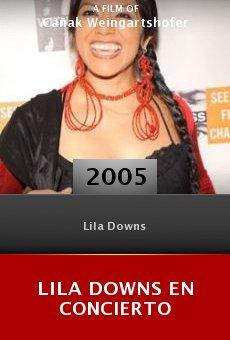 Lila Downs en concierto online free