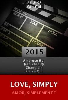 Ver película Love, Simply