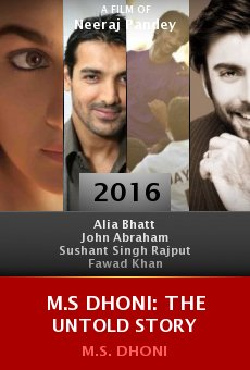 Watch M.S Dhoni: The Untold Story online stream