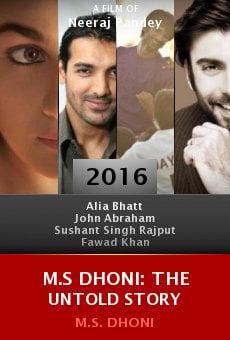 Ver película M.S Dhoni: The Untold Story