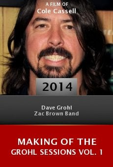 Ver película Making of the Grohl Sessions Vol. 1