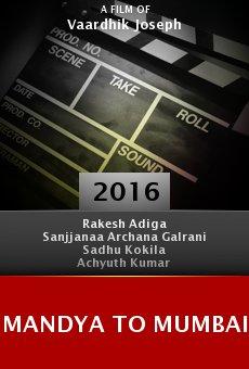 Ver película Mandya to Mumbai