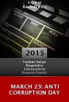 March 23: Anti Corruption Day Online Free