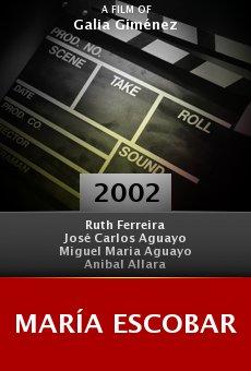 María Escobar online free