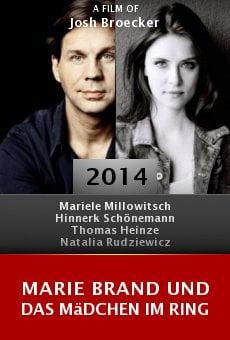 Marie Brand und das Mädchen im Ring online free