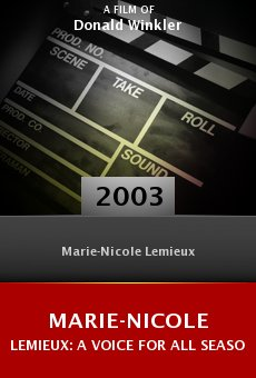 Marie-Nicole Lemieux: A Voice for all Seasons online free